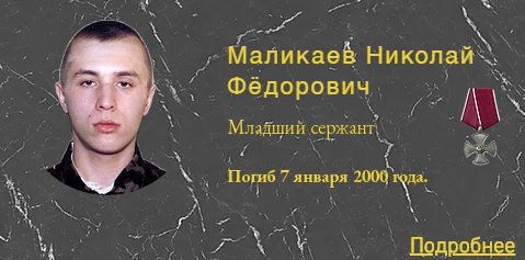 Маликаев Н.Ф.