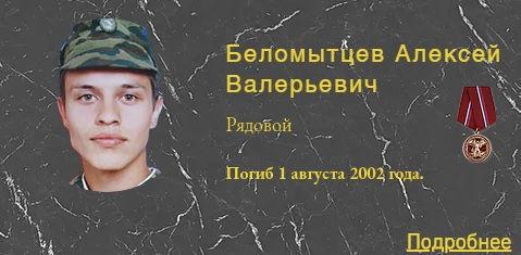 Беломытцев А.В.