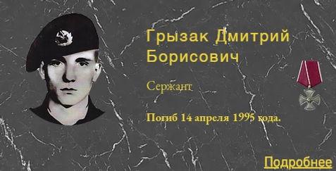 Грызак Д.Б.