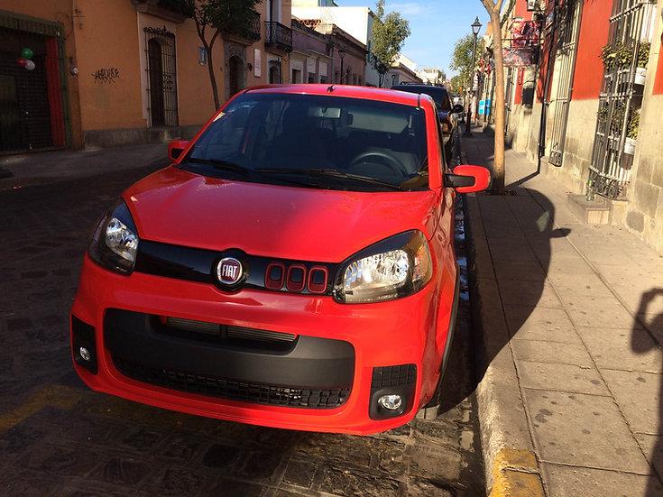 Car rental oaxaca Fiat uno