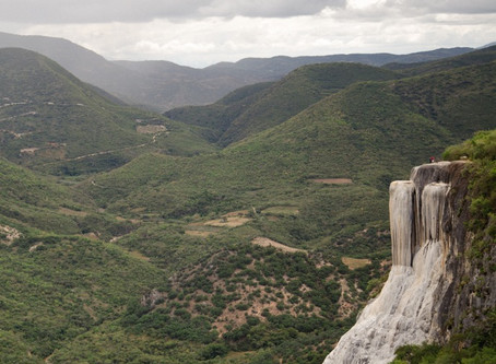 How to get to Hierve el agua.