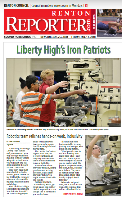 Iron Patriots in the news!