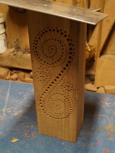 Bienenhotel Spiral Oak
