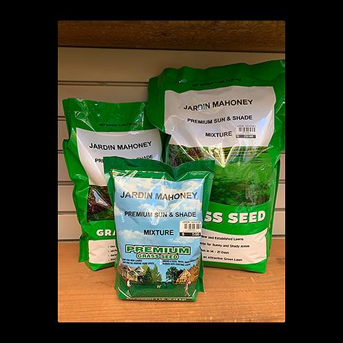 Jardin Mahoney Sun & Shade Grass Seed