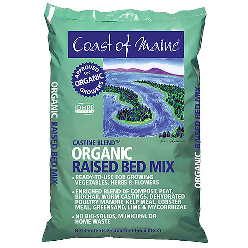 Castine Blend Organic Raised Bed Mix