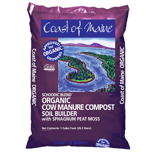 Coast of Maine Schoodic Cow Manure Compost