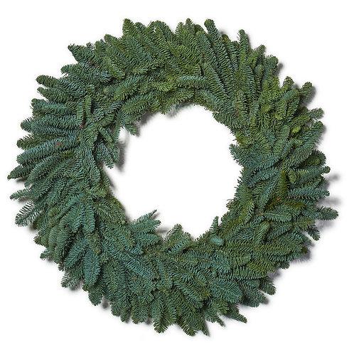 "Noble Fir Wreath - 14"""