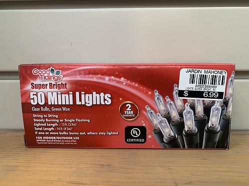 Good Tidings Super Bright Mini Lights - 50