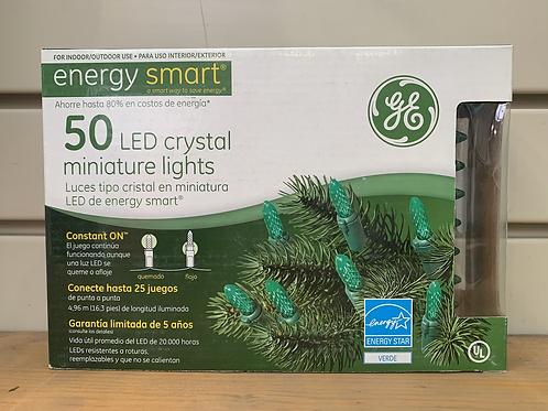 GE Energy Smart LED Crystal mini lights - 50