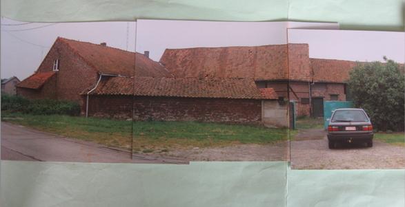 De boerderij voor renovatie in 1994