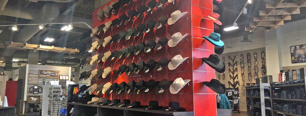 Red hat display wall