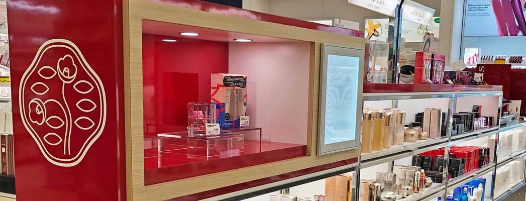 Shiseido Counter Display