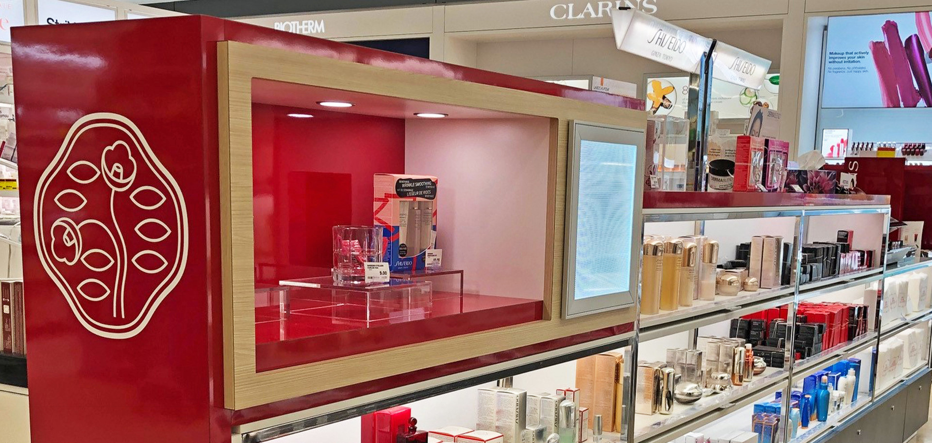 Shiseido Counter Display