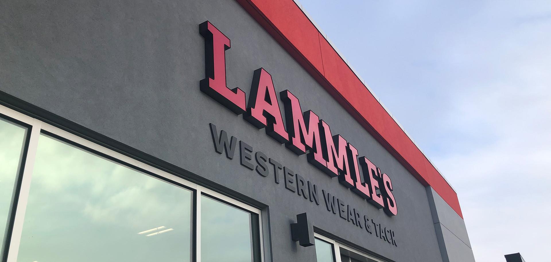 Lammle's Front Entrance
