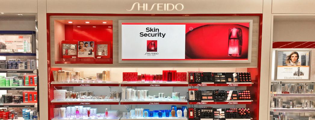 Shiseido wall insert