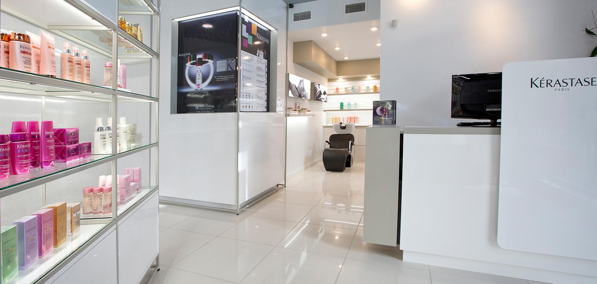 Ignite Beauty Lounge Front Desk