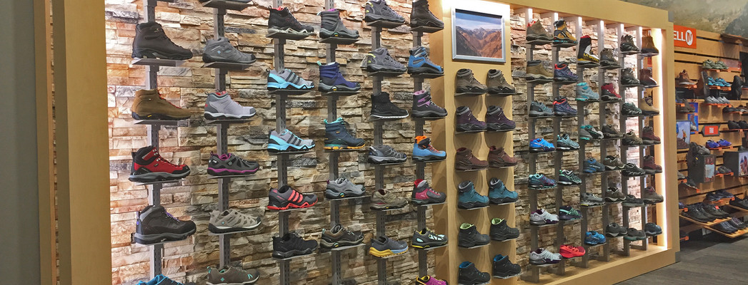 Scheels Hiking Wall