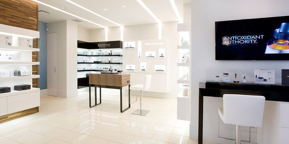 An inside look at the Skinceuticals Project Skin store