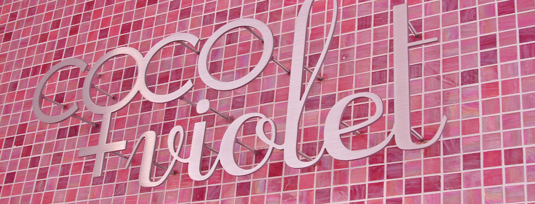 Coco and Violet logo