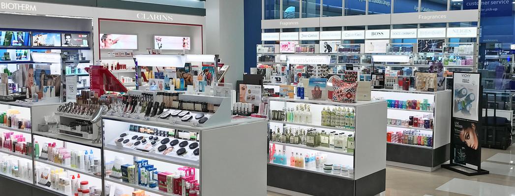 London Drugs Cosmetics Department