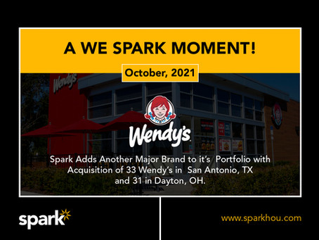 Spark Adds Wendy's To Their Brand Family In 64 Unit Acquisition
