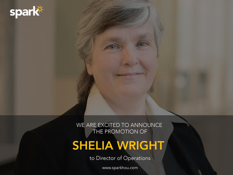 Promotion: SHELIA WRIGHT, our new Director of Operations