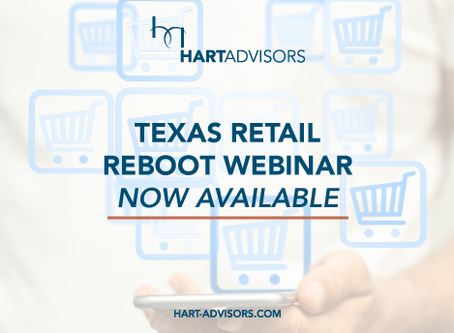 Texas Retail Reboot Webinar Now Available
