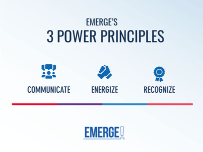 Emerge's Three Power Principles.