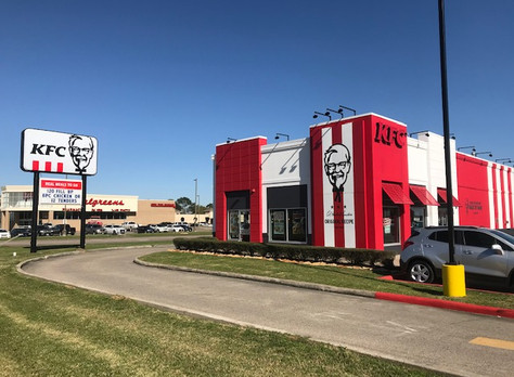 "Port Arthur's KFC was Remodeled and Reopened with the  ""American Showman"" Design"