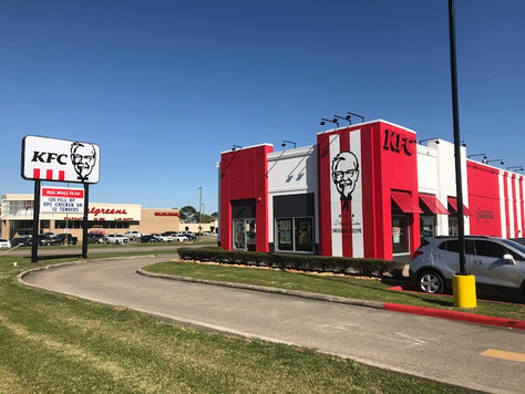 """Port Arthur's KFC was Remodeled and Reopened with the  """"American Showman"""" Design"""