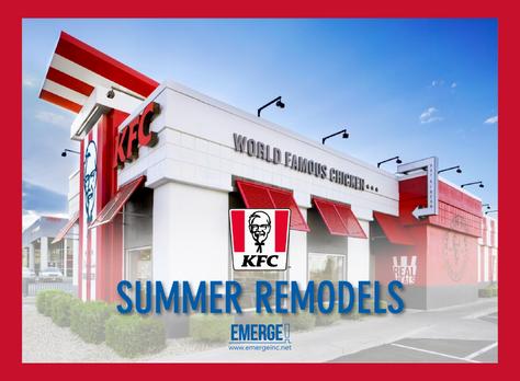 KFC Summer Remodels