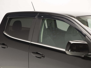 AVS (894049): Low-Profile Ventvisor for '15-'18 Chevy Colorado