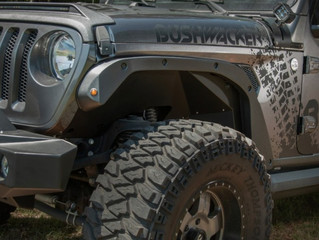 Bushwacker Trail Armor® Fender Flare Delete Kit for Jeep Wrangler JL