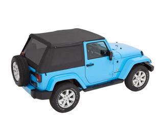 Bestop: Trektop NX Plus Soft Top for Jeep Wrangler JK