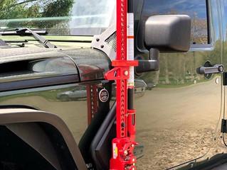 Go Rhino Jack Mount for Jeep Wrangler JK/JKU