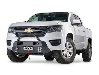 WARN: Semi-Hidden Winch Front Bumper for '15-'19 Chevy Colorado