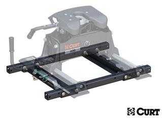 CURT OEM Puck System 5th Wheel Adaptor with Standard Rails for `20 Chevy/GMC Silverado/Sier