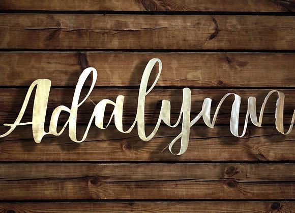 Custom Script Name or Words