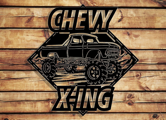 Chevy Mud Truck X-ING