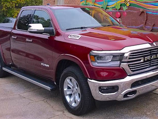 NAPA KNOWS NEW CARS: 2019 RAM 1500 LARAMIE QUAD CAB