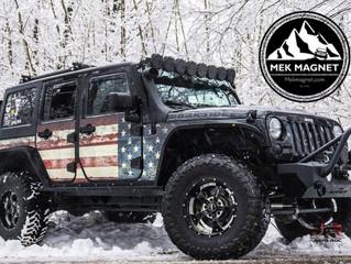 MEK Magnet Magnetic Jeep Armor