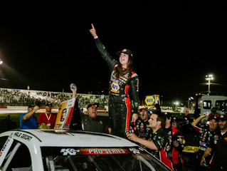 HAILIE DEEGAN BATTLES TO VICTORY AT K&N WEST RACE AT COLORADO NATIONAL SPEEDWAY