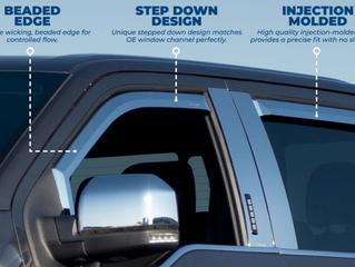 Putco Element Window Visors