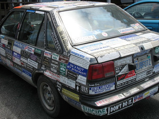 REMOVING STICKERS FROM YOUR CAR DONE RIGHT