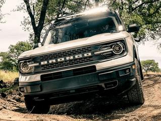RIGID Industries A-Pillar LED Light Mounts for 2021 Ford Bronco Sport