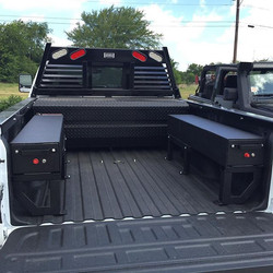 Instagram - Custom Weather Guard Pack Rat mounts & Bedliner