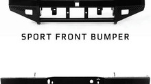 Ranch Hand: Sport Series Winch-Compatible Bumpers