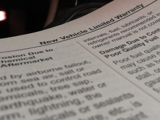 VOIDING A VEHICLE WARRANTY: HOW TO AVOID IT