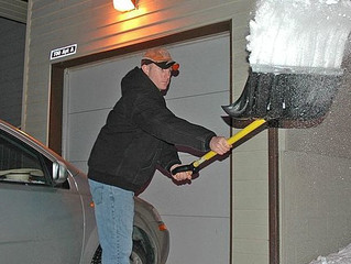 SNOW SHOVELING TIPS FOR WEARY WINTER WARRIORS