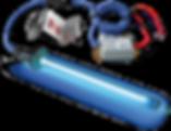 blue-tube uv light